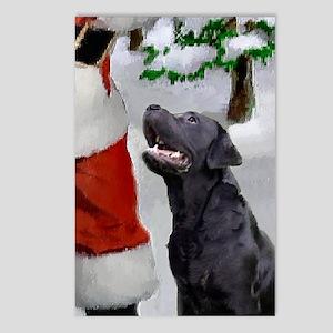 Labrador Retriever Christ Postcards (Package of 8)