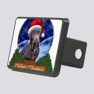 Labrador Retriever Christm Rectangular Hitch Cover