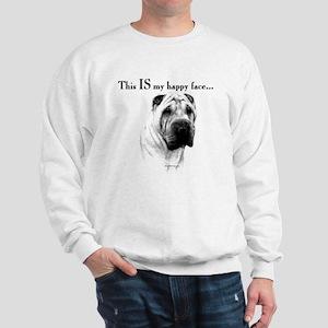 Shar Pei Happy Sweatshirt