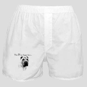 Shar Pei Happy Boxer Shorts