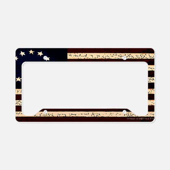 Original 13 License Plate Holder