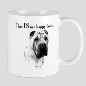 Shar Pei Happy Mug