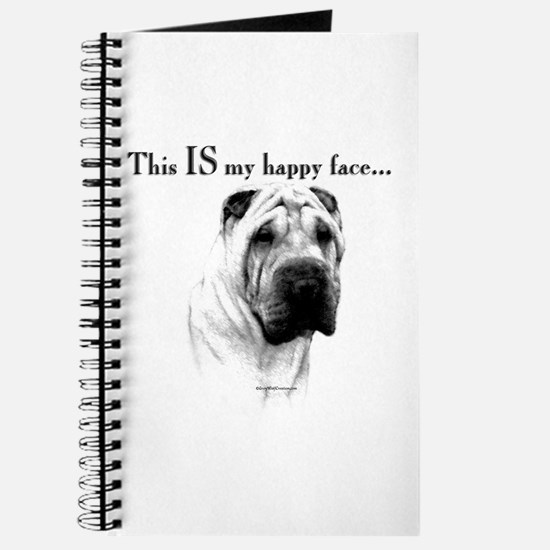 Shar Pei Happy Journal