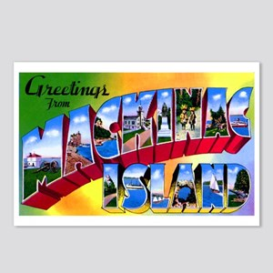 Mackinac Island Michigan Postcards (Package of 8)