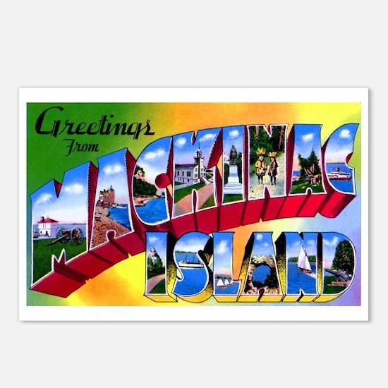Mackinac Island Michigan Postcards (Package of 8)