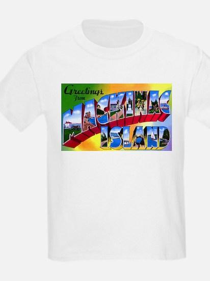 Mackinac Island Michigan (Front) T-Shirt