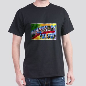 Mackinac Island Michigan (Front) Dark T-Shirt