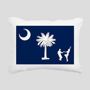 The South Carolina Shag  Rectangular Canvas Pillow