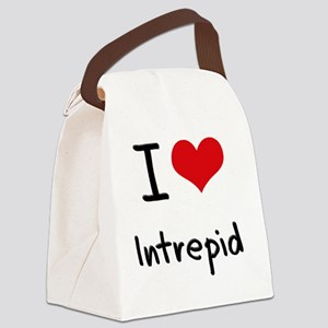 I Love Intrepid Canvas Lunch Bag