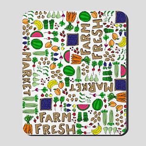Farmers Market Medley Mousepad