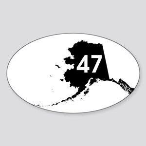 AK47 Sticker (Oval)