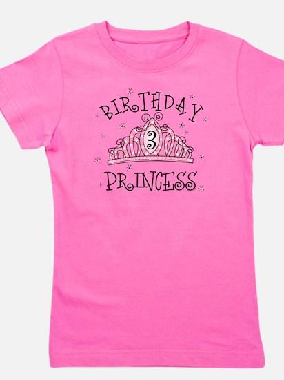 Tiara Birthday Princess 3rd Girl's Tee