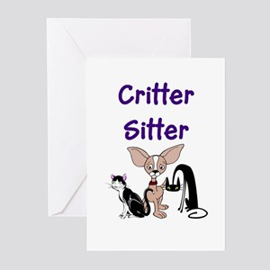 Pet Sitter Greeting Cards (Pk of 10)