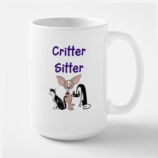Pet Sitter Large Mug