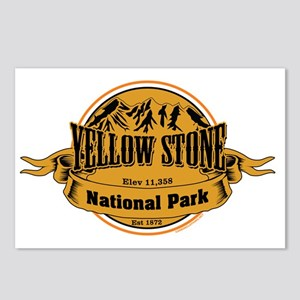 Yellow Stone Wyoming Postcards (Package of 8)