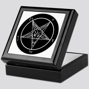 Baphonet Pentacle Keepsake Box