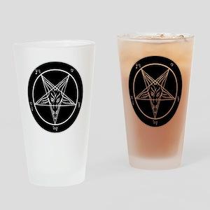 Baphonet Pentacle Drinking Glass