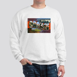 Orange County California (Front) Sweatshirt
