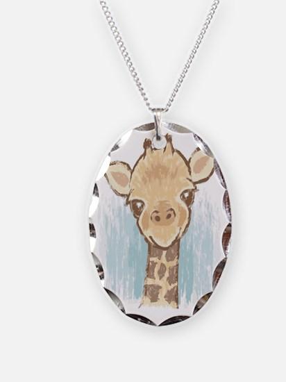 Sweet Giraffe Necklace
