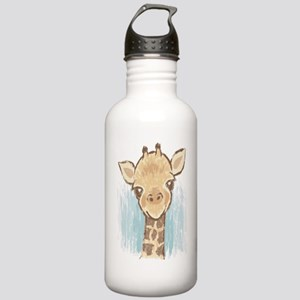 Sweet Giraffe Stainless Water Bottle 1.0L