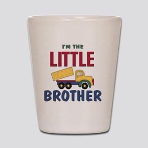 Little Brother Dump Truck Shot Glass