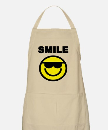 SMILE WITH SMILEY FACE Apron