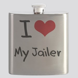 I Love My Jailer Flask