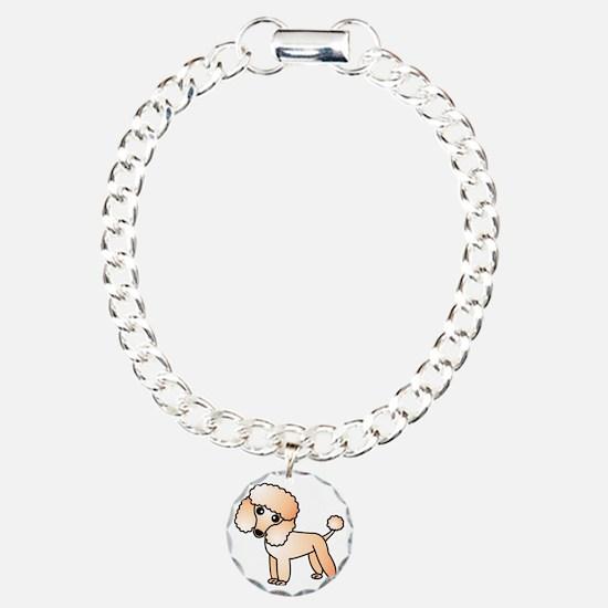 Cute Apricot Poodle Bracelet