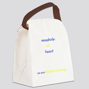 Boston Strong/Masshole Canvas Lunch Bag
