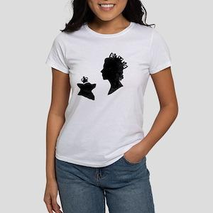 Queen and Corgi Women's T-Shirt