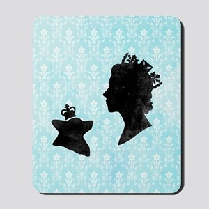 Queen and Corgi Mousepad