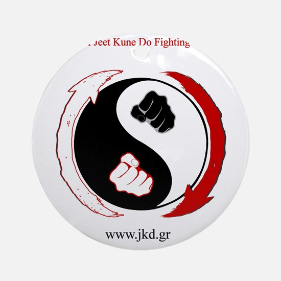 Fists... Round Ornament