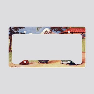 The Introduction License Plate Holder