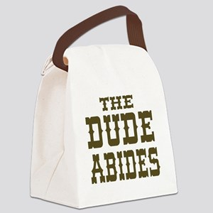 The Dude Abides Canvas Lunch Bag