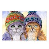 Knitwear sisters Postcards