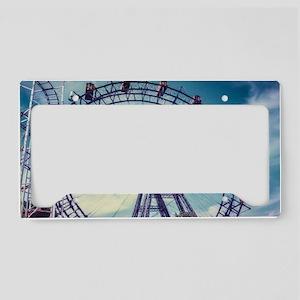Ferris Wheel License Plate Holder