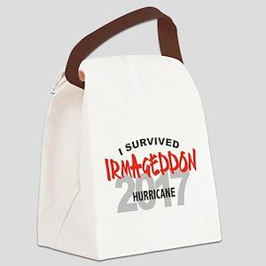 Hurricane Irma Survivor Canvas Lunch Bag
