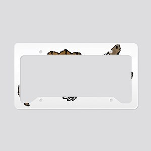 Funky Snapping Turtle License Plate Holder