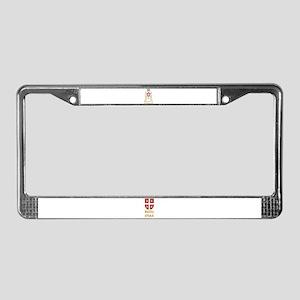 Vojska Srbije / Serbian Army License Plate Frame