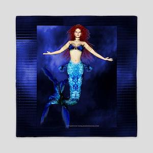 Mermaid Fantasy Artwork 2 Queen Duvet