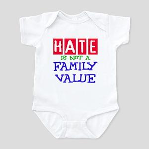 NO HATE Infant Bodysuit