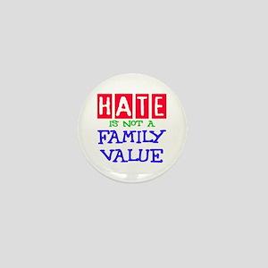 NO HATE Mini Button