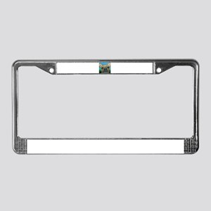 Fawn Frenchie License Plate Frame