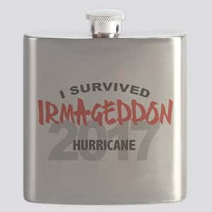Hurricane Irma Survivor Flask