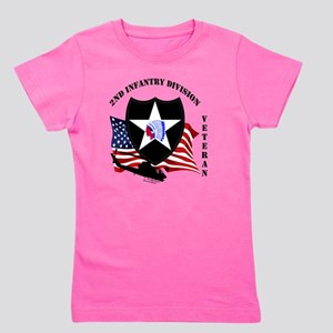 2nd Infantry Division aka Indian Head D Girl's Tee