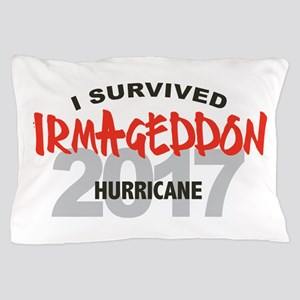Hurricane Irma Survivor Pillow Case