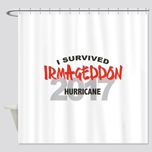 Hurricane Irma Survivor Shower Curtain