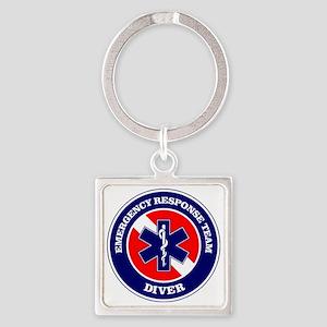 ERT Diver 1 Square Keychain