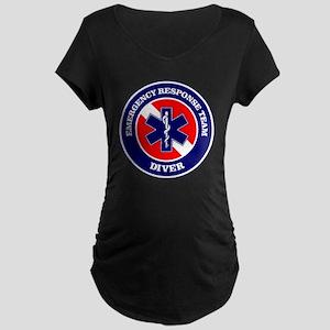 ERT Diver 1 Maternity Dark T-Shirt