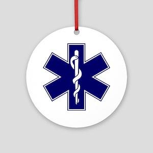 EMT logo Round Ornament